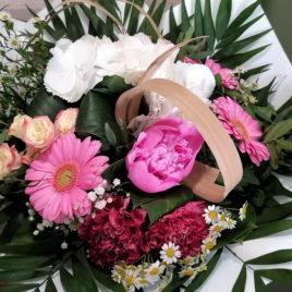 Bouquet merveilleux de pivoines